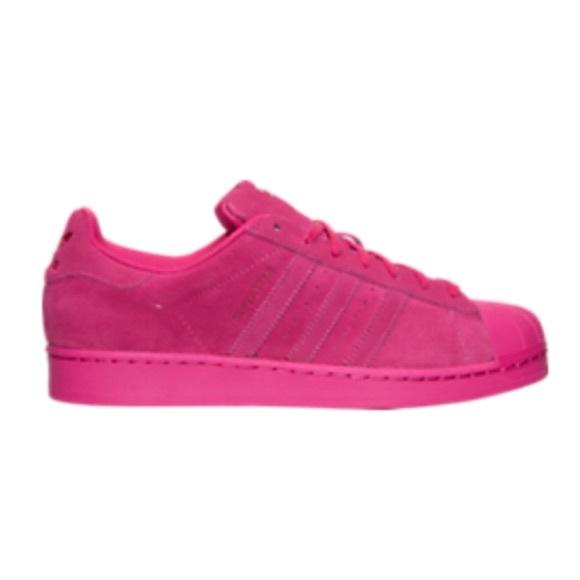 adidas superstar dark pink