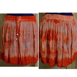 Dresses & Skirts - LAST CHANCE Viscose tie dye hippie skirt