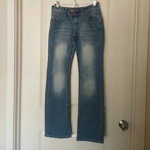 Angel's flare jeans