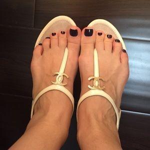  authentic Chanel Sandal