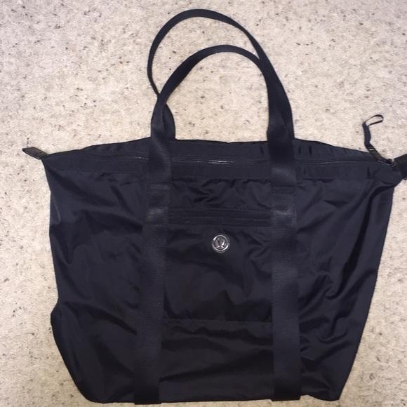 e1a19bb7f05 lululemon athletica Bags | Lululemon Tote W Yoga Mat Carrier | Poshmark