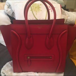 Celine Handbags - Celine mini luggage selling low 2400$