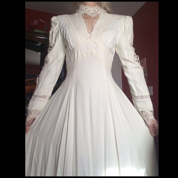 Jessica McClintock Dresses   Vintage Wedding Dress   Poshmark