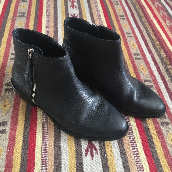 82a498e9712 J. Crew Frankie Tumbled Leather Ankle Boots