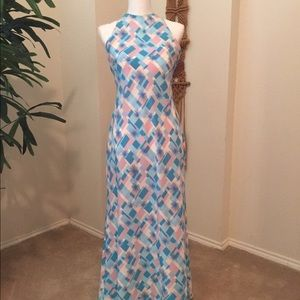 1970 inspired maxi dress