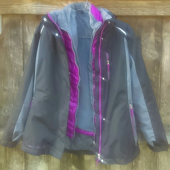 1e8cb8a91a1 FREE COUNTRY Jackets   Blazers - ❄FREE COUNTRY Radiance 3-in-1 systems