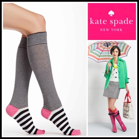 733d27ce85d Kate Spade Knee High Boot Socks