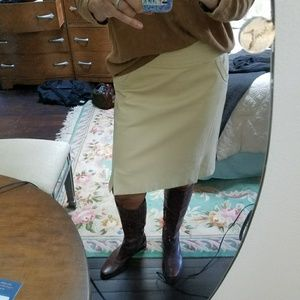 Dresses & Skirts - PRICE REDUCED . Polo Ralph Lauren leather skirt