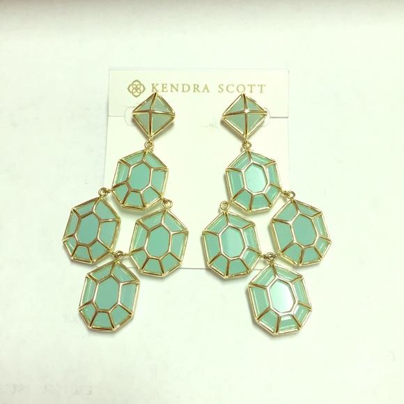 Kendra Scott Lorraine Chandelier Earrings