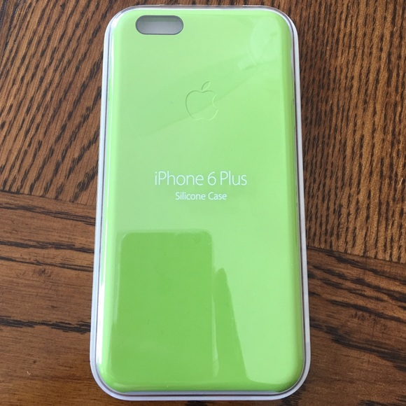 best service f1f9b 87ede iPhone 6(s) Plus lime green Apple silicone case