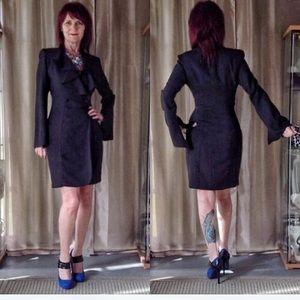 ABS Allen Schwartz Dresses & Skirts - BLACK COAT DRESS BY ALLEN B SCHWARTZ