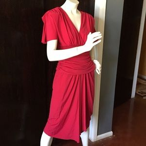 Vintage Rimini red dress