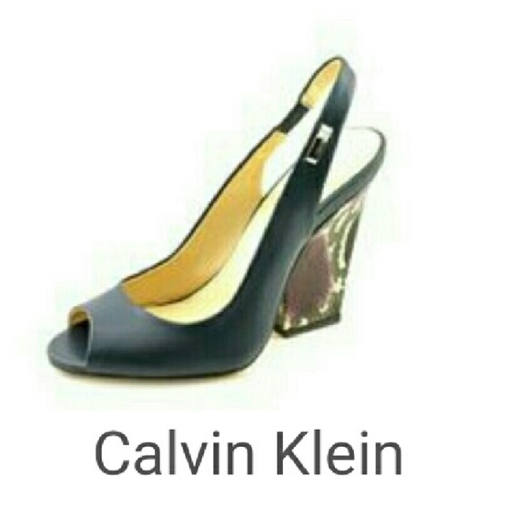 80 calvin klein shoes calvin klein wedges from