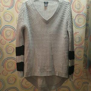 Rue 21 HI-LO Grey Sweater