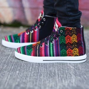 Aztec Print Sneakers
