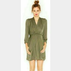 Bar III Dresses & Skirts - ✨HPx4✨ BAR lll 3/4 sleeve surplice neck dress