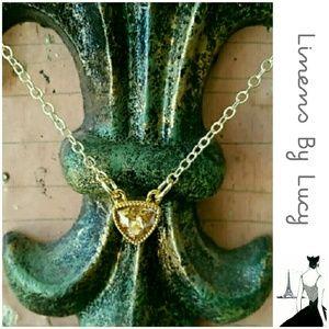 Jessica Elliot Jewelry - $10 OFF SALE!!  Swarovski Crystal Pendant Necklace