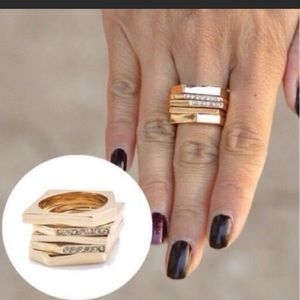 Sunahara Jewelry Jewelry - 🆑 New Modern Stacking Ring by T&J Designs