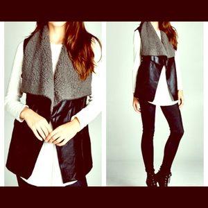 FashionBohoLoco Jackets & Blazers - 🛍 PRICE DROPPIN! Black Vegan Leather Jacket NWOT