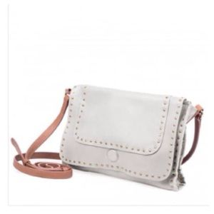 🍃💖Linea Pelle Studded Leather Cross Body