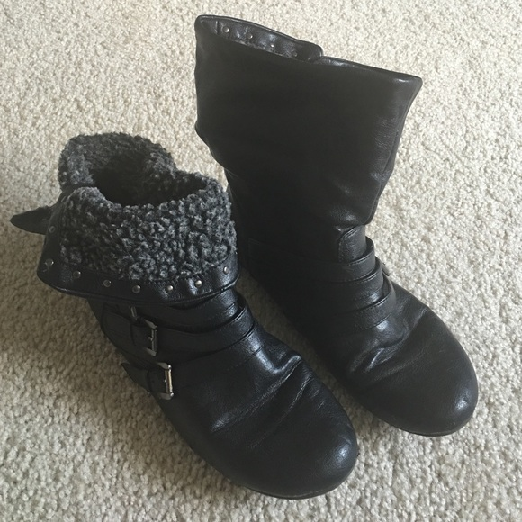 50 fashion bug shoes black ankle boots from