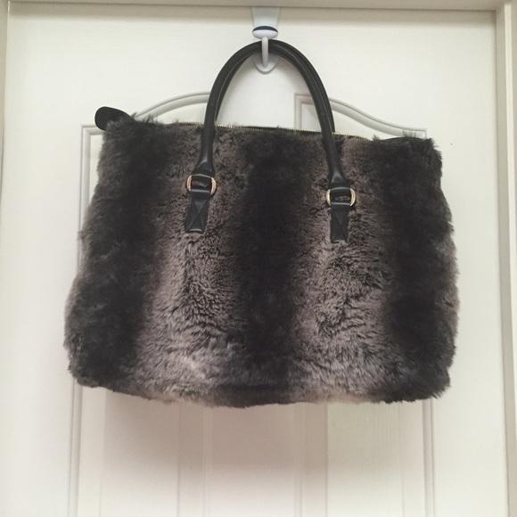 7287783c61d5 TAMA Bags | Faux Fur Hand Bag Nwot | Poshmark
