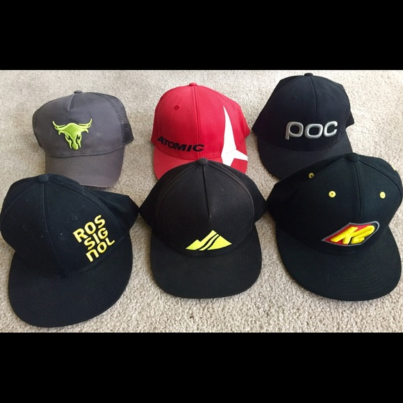 5311092f Various Ski Brand Baseball Hats - 6 hats total. M_56ec7237a88e7d607701f4a2