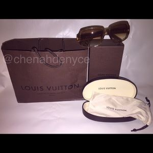 "Authentic Louis Vuitton ""Obsession"" Sunglasses"