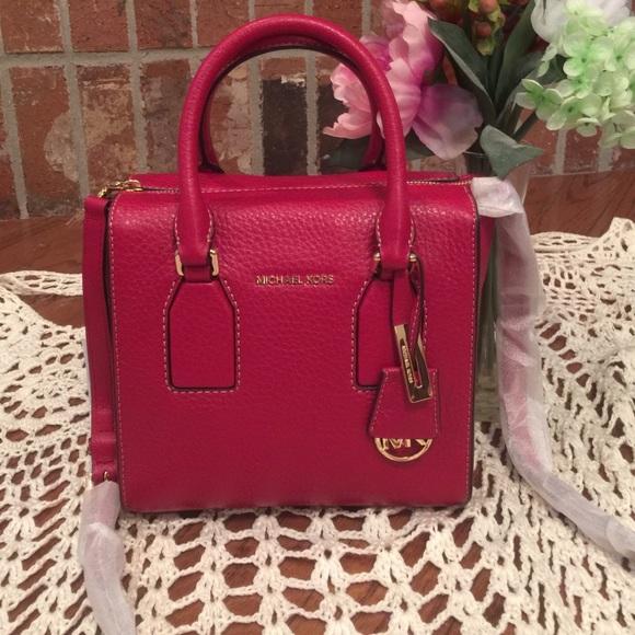 2bddedab5b80 Michael Kors Bags | Cherry Red Selby Purse | Poshmark