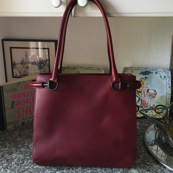 91% off Gucci Handbags - Gucci maroon red handbag❤ 👛One Day ...