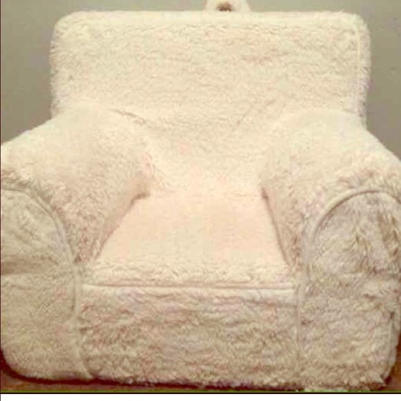 Pottery Barn Kids Cream Sherpa Chair Cover Only