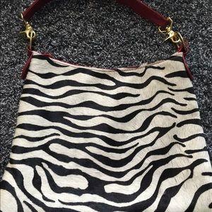 Andre Oliver Handbags - Zebra print purse