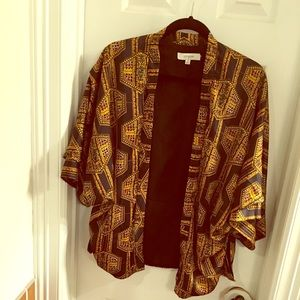 Bohemian Styled Kimono Jacket