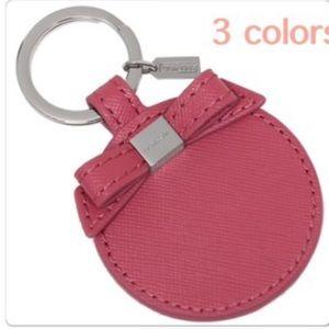 NWT Coach mirror keyfob--pink