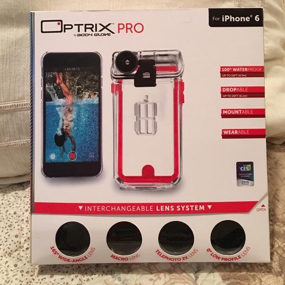 huge discount 33cee 18ab5 Optrix iPhone 6/6s WATERPROOF Case & Lenses