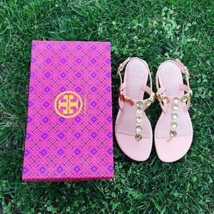 {Tory Burch} Flat Thong Sandals