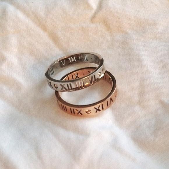 703bfa685 Jewelry | Roman Numeral Rings Inspired By Tiffany Atlas | Poshmark