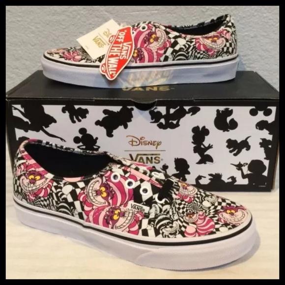 3781c593d2 VANS x DISNEY Sz 7 Cheshire Cat Shoes Authentic