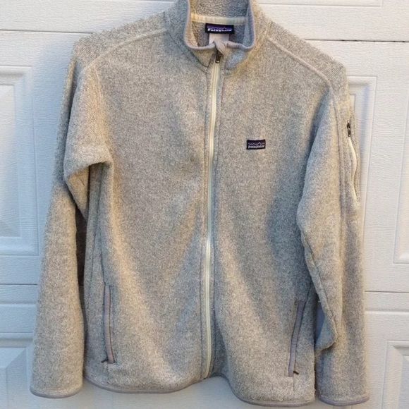 Patagonia Sweaters Womens Grey Better Sweater Full Zip Poshmark