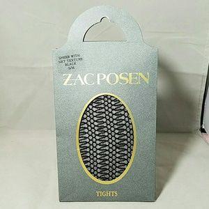 Zac Posen Accessories - ZAC POSEN Black NWT Sheer Net Texture S/M Tights