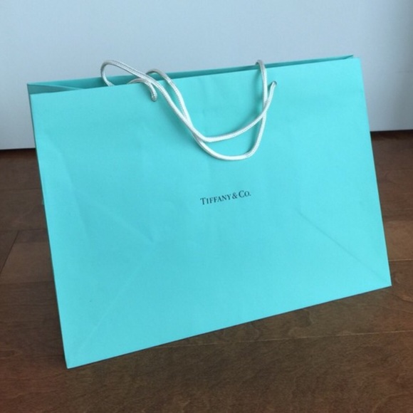 Tiffany & Co. - Tiffany & co shopping bag mint medium/large size ...