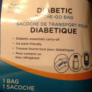 Handbags - Diabetic on the go bag in blue