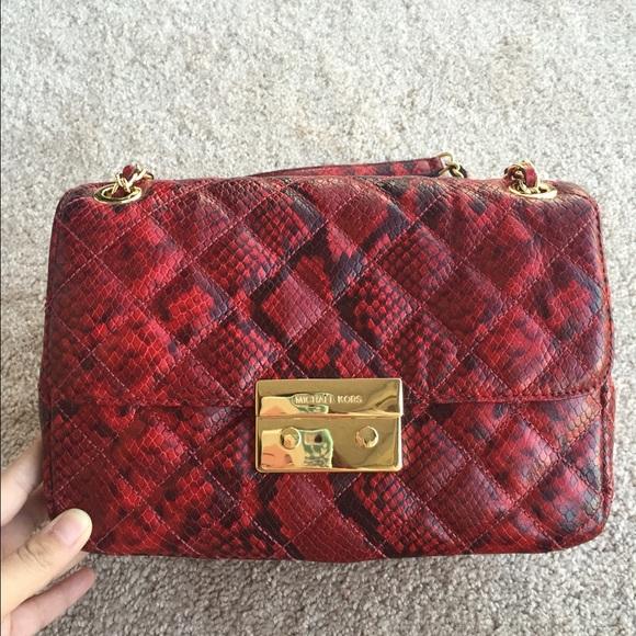 82f502fc22df Michael Michael Kors Sloan Large Chain bag