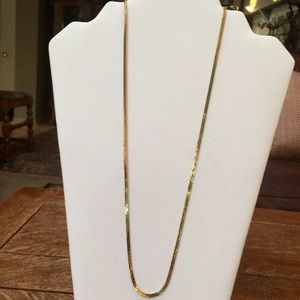 MONET Jewelry - MONET GOLD BRAIDED CHAIN NECKLACE