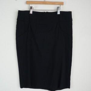 Zinc Mini Pencil Skirt