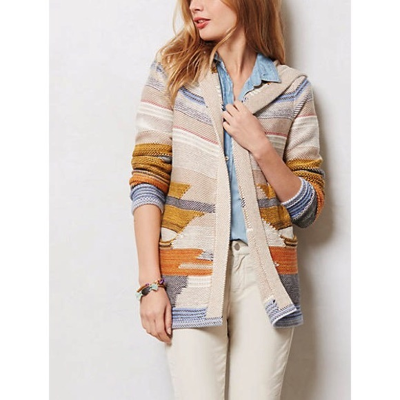 Anthropologie - αитняσρσℓσgιє - Sparrow Aztec Hooded Cardigan from ...