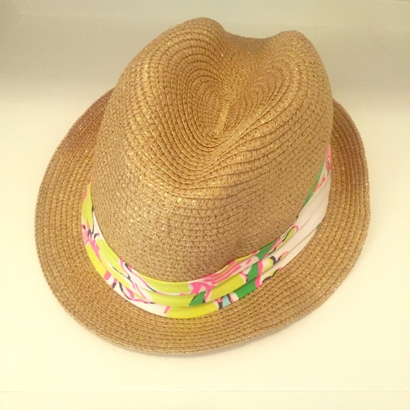 Lilly Pulitzer for Target Accessories - Girls Lilly Pulitzer for Target  Nosie Posey Fedora 5d59c2f87b9