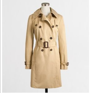 J. Crew Jackets & Blazers - J. Crew Factory Belted Trench