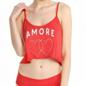 """Wildfox Tops - 🎉HP! ❤️ Brand new Wildfox """"Amore"""" crop top"""