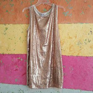 Michael Stars sequin mini dress